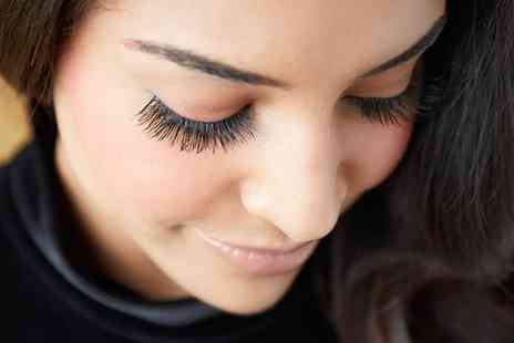 Nails By Jackie - Full Set of Eyelash Extensions with Brow Tint  - Save 0%