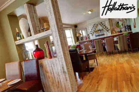 Hollathans - Pizza or Pasta with Prosecco for Two - Save 53%