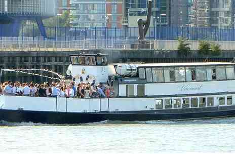 Thames Party Boats - One, Two or Four Tickets to a Four-Hour Easter Themed Boat Party  - Save 50%
