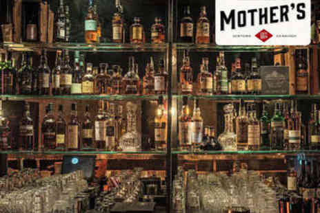 Mothers Gin Bar - Gin Flight with Nibbles for Two - Save 63%