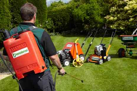 Greensleeves - 100, 200 or 400 Square Metres of Lawn Treatment  - Save 58%