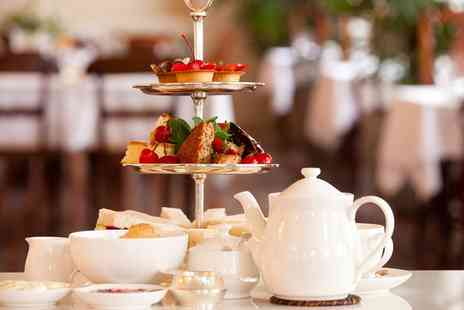 The Manor Hotel - Champagne Afternoon Tea for Two or Four - Save 0%