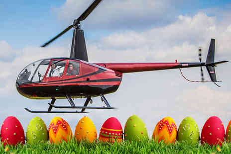 Flying Pig Helicopters - Helicopter flight experience for one including an Easter egg on selected dates  - Save 40%