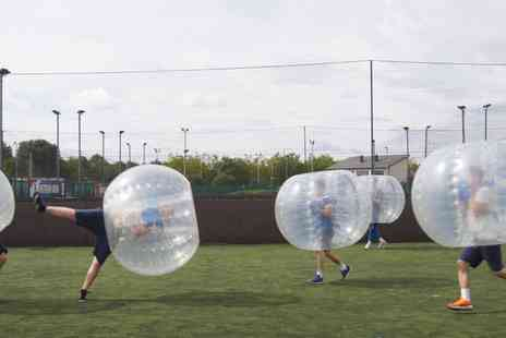 Zorball - Zorb Football for Up to Ten, Multiple Locations  - Save 33%