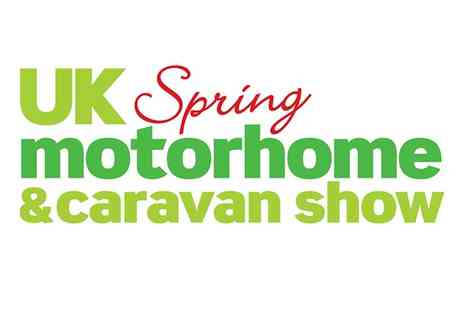 Mortons Media Group - UK Spring Motorhome & Caravan Show Adult Tickets and Optional Camping, 2 to 3 April - Save 25%