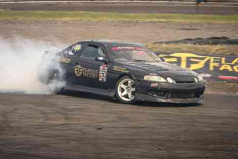 Flatout Factory - Introduction to Drift Course for One or Two - Save 70%