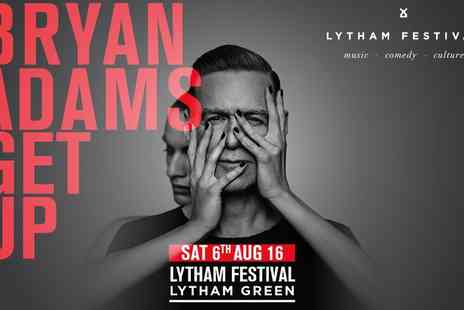 Cuffe & Taylor - Bryan Adams Live at Lytham Festival On 6th August 2016 - Save 0%
