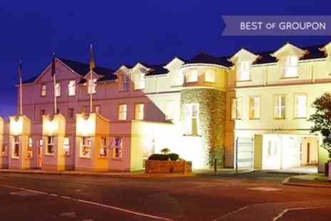 Ballyliffin Hotel - Two Nights Stay For Two With Breakfast and Irish Cream Liquor With Option For Dinner  - Save 54%