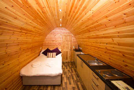 Wall Eden Farm - Two Nights Somerset Escape in the Strawberry or Raspberry Glamping Pod  - Save 0%