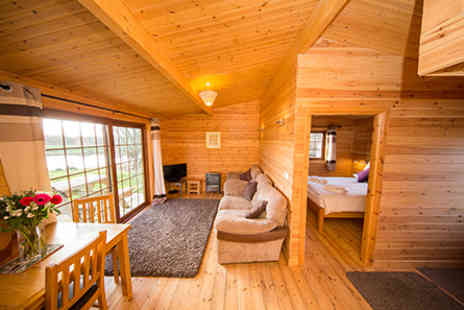 Wall Eden Farm - Three Nights Somerset Log Cabin Escape for Two  - Save 0%