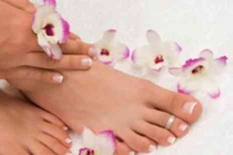Valentines - Paraffin Wax Manicure and Pedicure - Save 62%