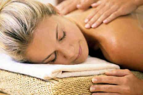 Beauty Station - Back, Neck, and Shoulder Massage with Exfoliation - Save 67%