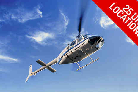 Adventure 001 - 12 Mile Themed Helicopter Flight - Save 51%