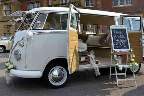 Posh Pampa Campa - Two Hour VW Camper Van Photobooth Hire with Attendant and Images  - Save 0%