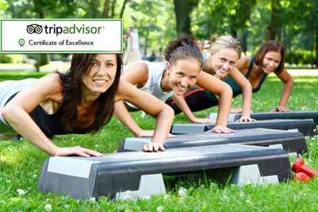 Motivate Bootcamp - Two day all inclusive ladies only fitness retreat   - Save 20%