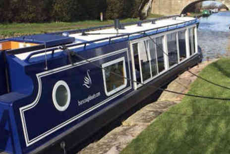 Blue Swan Boat Hire - Afternoon Tea Canal Cruise for Two - Save 64%
