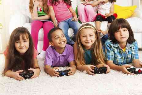 Gokidsgo - Video Gaming Party For Ten Children With Food and Refreshments  - Save 61%