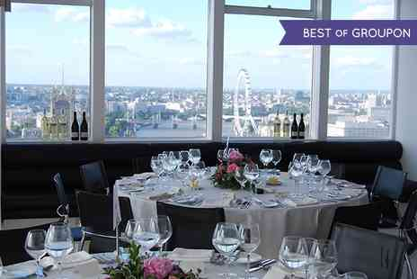 Altitude 360 - Ultimate VIP Brunch In The Sky with Free Flowing Prosecco and Panoramic Views Of London - Save 72%