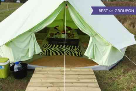Botany Camping -  Two Night Bell Tent Stay For Up to Five With BBQ Kit  - Save 51%