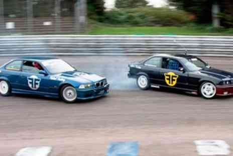 Flatout Factory - Three Hour Drift Car Driving Course -  Save 70%