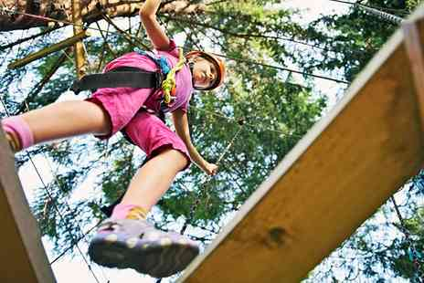 Aerial Extreme -  Adventure Course Ticket for a Child or Adult  - Save 41%