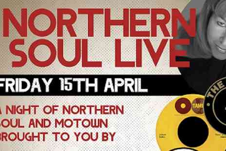 Shout Media & Events - Northern Soul Live One Balcony Ticket On 15 April  - Save 48%