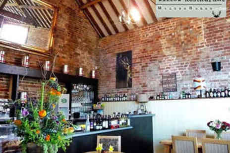 Willow Restaurant - Two Course Meal with Wine for Two - Save 38%