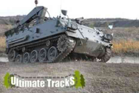 Ultimate Tracks - Tank paintball experience for two or £36 for four including 100 paintballs each - Save 68%