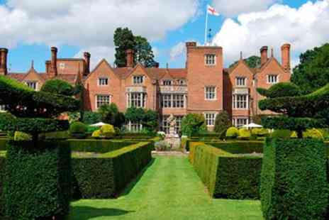 Great Fosters Hotel -  Thrilling Gastronomy 3 Course Meal for 2 - Save 35%