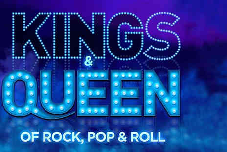 The Blackpool Piers Company - Kings & Queen of Rock, Pop & Roll Ticket on the Central Pier including a glass of Prosecco - Save 58%