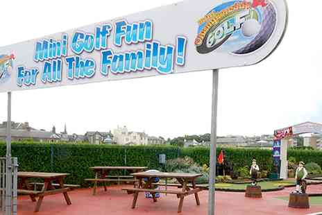 Pirate Petes - 18 Holes of Crazy Golf and Two Hours of Indoor Soft Play for Two - Save 45%