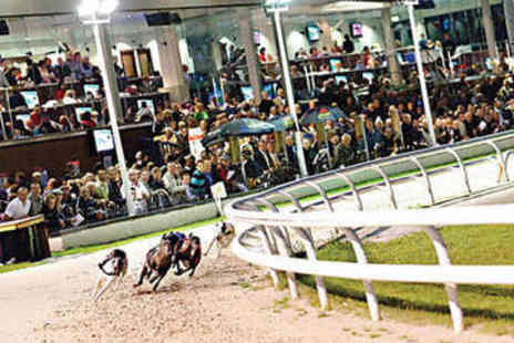 Drumbo Park - Greyhound Racing Admission with Burger and Beer - Save 86%