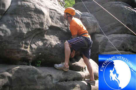 Extreme Ventures - Outdoor rock climbing experience for one -  Save 67%