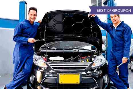Reddicap Garage - 55 Point Car Service With Oil and Filter Change and Optional Diagnostics - Save 71%