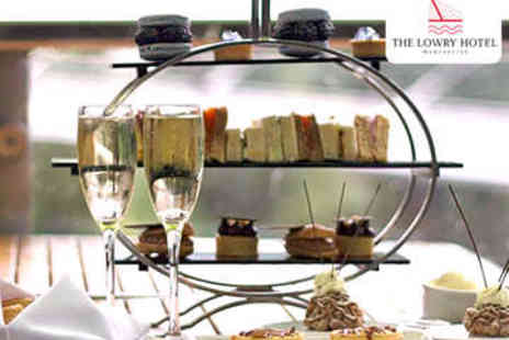 The Lowry Hotel - Afternoon Tea with Prosecco for Two - Save 0%