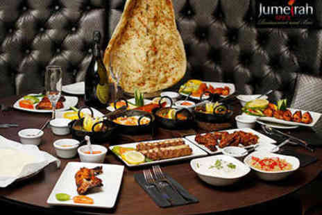 Jumaira Spice - Two Course Indian Meal for Two - Save 55%
