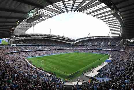 Manchester City Football Club - Stadium and Club Tour for one adult and one child - Save 39%