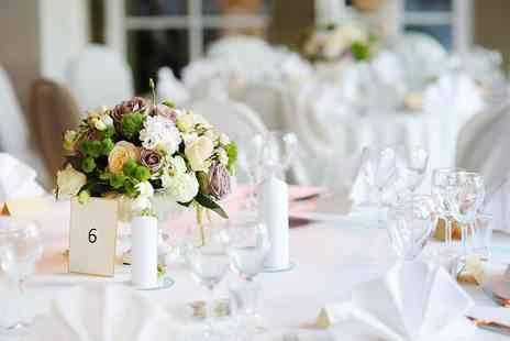 Hazelwood Centre - Wedding Package for 50 Day and 75 Evening Guests  - Save 55%