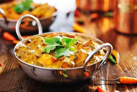 The Chilli Lodge Barnsley - Two Course Indian Meal For Two or Four  - Save 43%