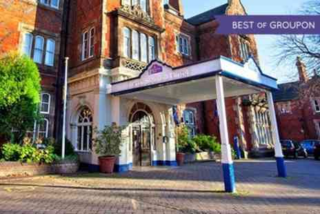 North Stafford Hotel - One or Two Nights Stay For Two With Breakfast, Dinner and Wine - Save 0%