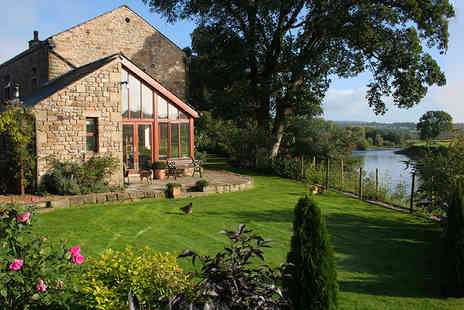 Riverside Barn - Two or Three nights break for two with a breakfast hamper each morning  - Save 39%