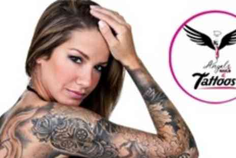 D Angels Nails and Tattoos - Tattoo With Minimum 45 Minute Ink Time - Save 64%