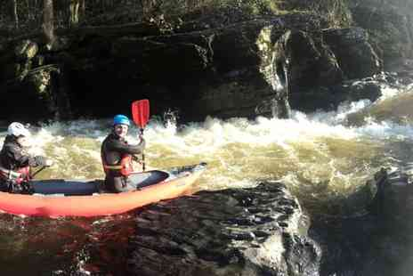 Hire a Canoe - Three hour water duckie rapid experience for one  - Save 29%