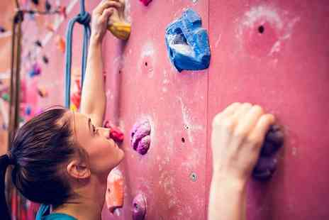 Climb Rochdale - Climbing day pass with bouldering instruction  - Save 64%