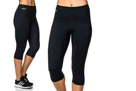121 Mart - Pair of high waist capri pants - Save 62%