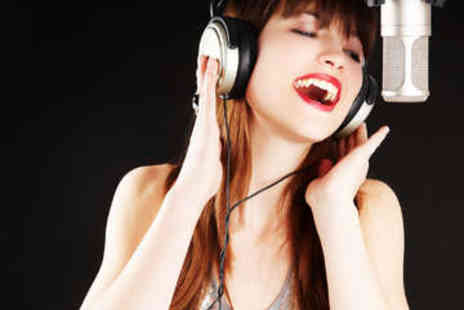 AM Studios - Hour Long Singing Lesson - Save 57%