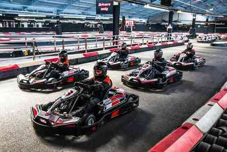 Activity Superstore - 50 laps of indoor go karting for two  - Save 56%