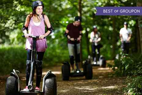 Segway Events - 30 or 60 Minutes Segway Rally Experience for One or Two  - Save 35%