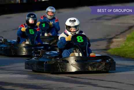 West country karting - 80 Karting Laps for One, Two or Four - Save 75%