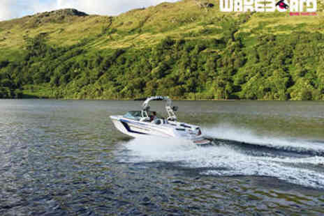 Loch Lomond Wakeboard - 40 Minute Speed Boat Tour - Save 0%